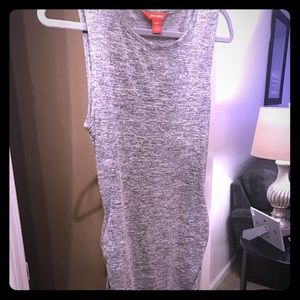 Joe Fresh grey sleeveless dress